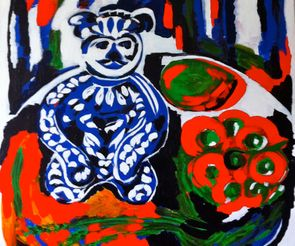 Nature Morte with the Bear